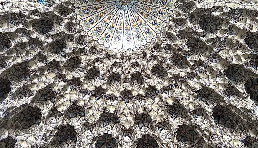 مقرنس مسجد گوهرشاد